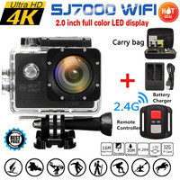 4K Waterproof 16MP Full HD 1080P WIFI 2 0 Inch Action Camera Sports DVR Camcorde Remote