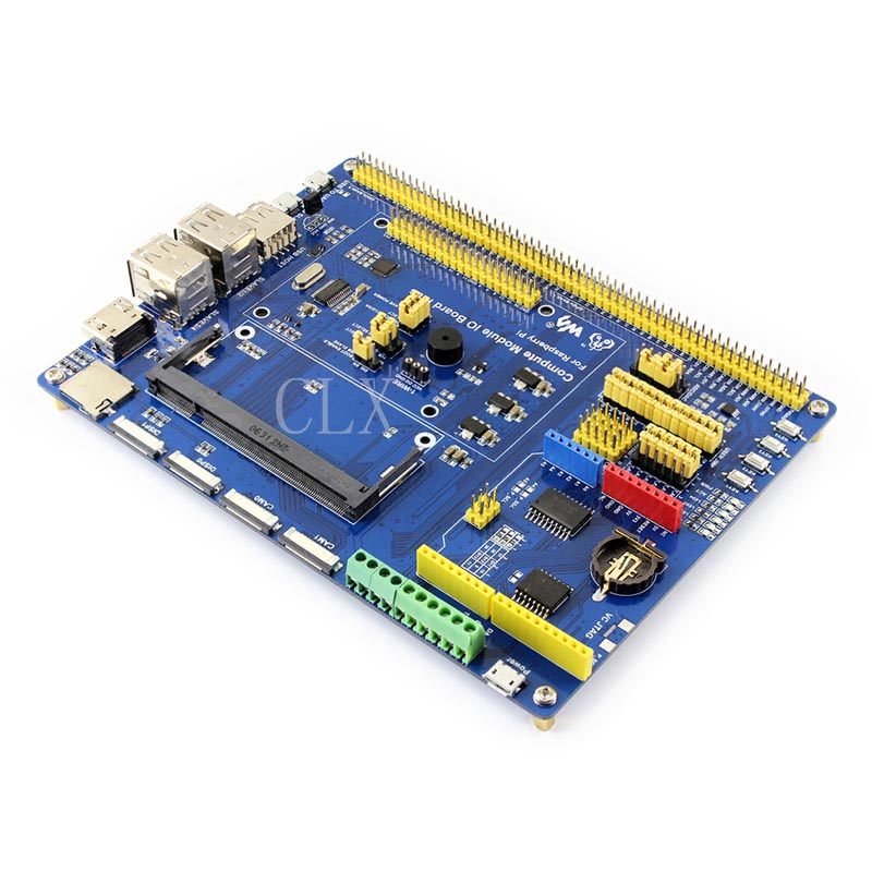 Compute Module IO Board Plus,Composite Breakout Board for Developing with Raspberry Pi CM3, CM3L Various component-in Demo Board Accessories from Computer & Office    2