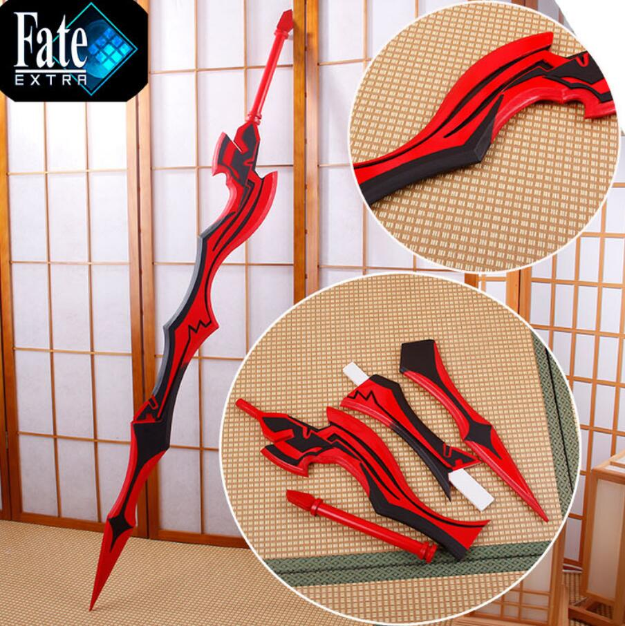 Fate/EXTRA Last Encore Saber Nero Red sword Cosplay Foldable Weapon PVC Props