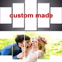 5pcs Wedding photo private customization Full Square Diamond Embroidery,5D,Diamond Painting Cross Stitch,3D,Diamond Mosaic Y0001