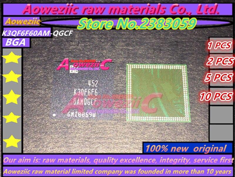 Aoweziic 100 % 새로운 오리지널 K3QF6F60AM - QGCF BGA 메모리 칩 K3QF6F60AM QGCF