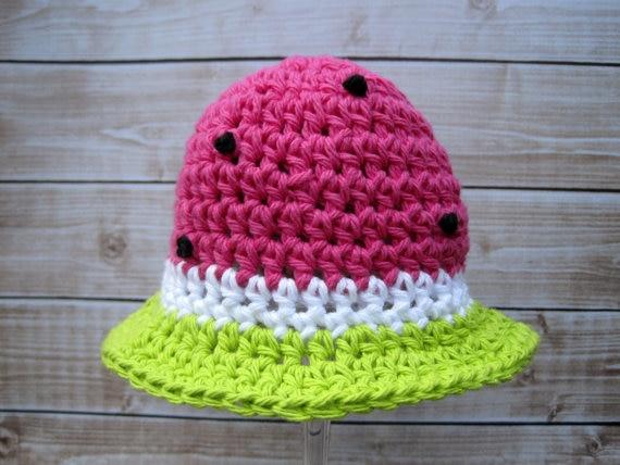 Horgolt baba sapka, újszülött kalap, csecsemő kalap, baba lány - Bébi ruházat - Fénykép 4