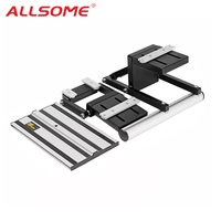 ALLSOME Electric Circular Saw Guide lift Set With Rail Lifting Accessories Woodworking Tool HT2678 2679
