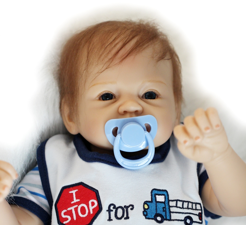22 Lovely reborn baby boy girl dolls toys magnetic mouth pacifier, cloth body silicone alive babies dolls kids bebe gift reborn22 Lovely reborn baby boy girl dolls toys magnetic mouth pacifier, cloth body silicone alive babies dolls kids bebe gift reborn