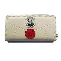 Leeshang Lady Harry Potter Letter Zip Wallet PU Long Women Wallets Fashion Clutch Female Purse Card