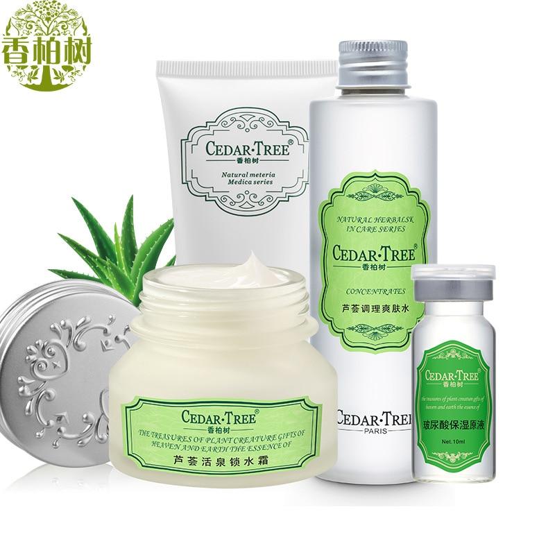 Hydration Skin Care: Moisturizing Hydrating Skin Care Set 4pcs & Whitening