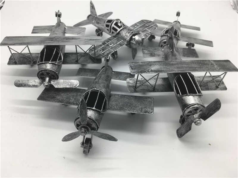 2017 Vintage Airplane Home Decor Iron