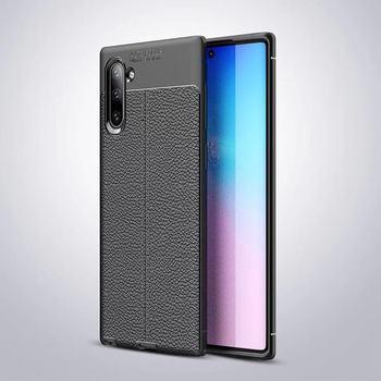 Funda de cuero PU suave de silicona ultrafina para Samsung Galaxy Note 10 Note 10 Pro Note 9 8 S8 S9Plus S10 S10 plus S10 lite