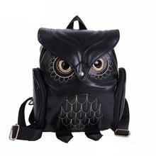 Cute Owl Fashion Backpacks Cartoon Women Backpack