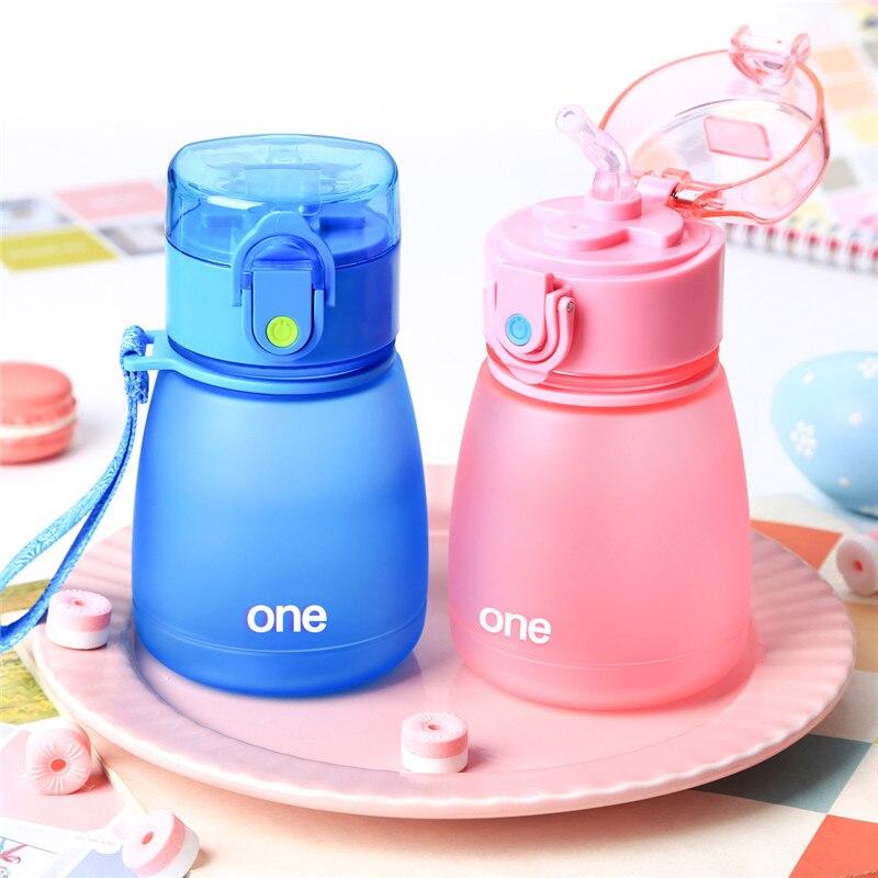 Kindergeschirr Mutter & Kinder 320 Ml Kunststoff Baby Fütterung Tasse Mit Stroh Für Kinder Leck-puh Lernen Trinken Wasser Flasche Fütterung Flasche Milch Tasse Bpa Frei