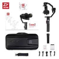 zhiyun ZHIYUN Crane 2 Gimbal 3.2KG bear Video grapher camera Handheld 3 Axis Stabilizer DSLR gimbal steadicam with Follow Focus