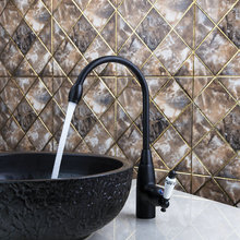 Дрожь кухня torneira керамические ручки поворотным 360 масло втирают Черный Бронзовый Горячие/холодный 97109 умывальник, туалет смеситель Коснитесь