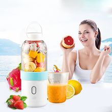цена 550ml Portable Blender USB Juicer Cup Fruit Vegetable Mixer Smoothie Milk Shake Hand Personal Small Juice Make Machine Extractor онлайн в 2017 году