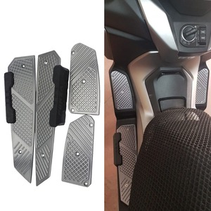 SEMSPEED Motorcycle Accessories For Honda Forza300 MF13 FORZA 300 125 250 2018 2019 2020 CNC Footrest Footpad Pedal Plate Parts(China)