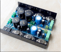 Assembeld Hood 1969 MJE15024/25 Class A power amp board 25W 2 CH amplifier