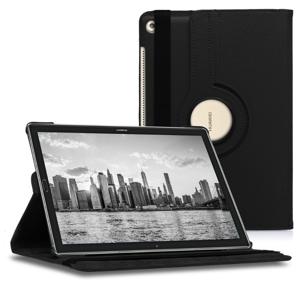 360 Rotating Smart Case for Huawei MediaPad M5 10.8 PU Leather Case Stand Cover for Huawei M5 Pro 10.8 inch Fundas Capa+Pen Gift