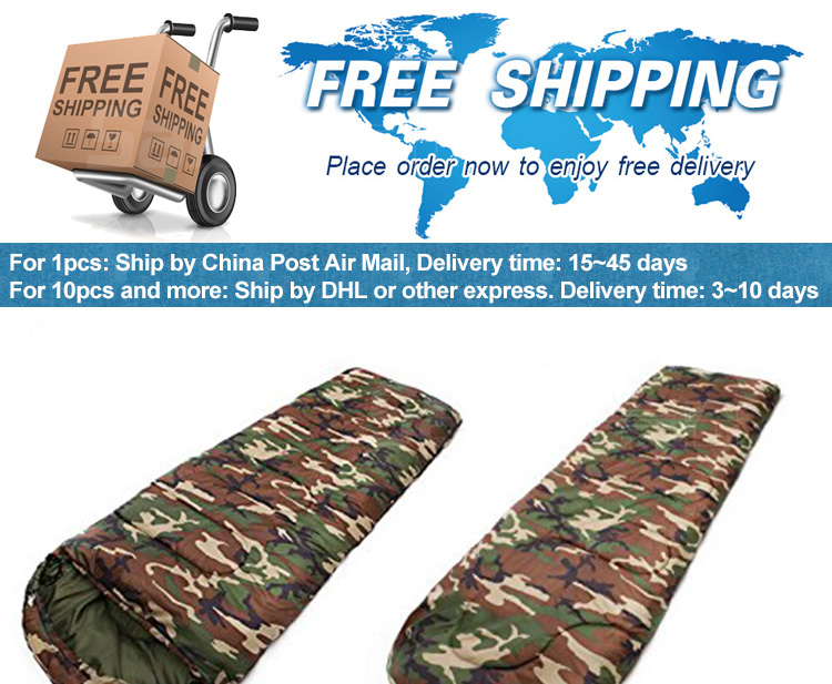 Camp Sleeping Gear Sports & Entertainment Camouflage Single Person Envelope Sleeping Bag With Carrying Bag For Kids Or Adults Outdoor Hiking Camping Tools Gear