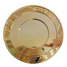 Best selling copper engraving coin new blank