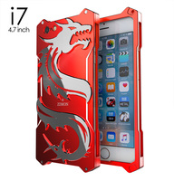 For Iphone 7 Plus Case Simon Dragon Shockproof Metal Back Cover Case For Iphone 6 6s