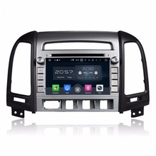Octa Core 2 din 7″ Android 6.0 Car DVD GPS for Hyundai SANTA FE 2006-2011 With 4GB RAM Radio Bluetooth 32GB ROM Mirror-link