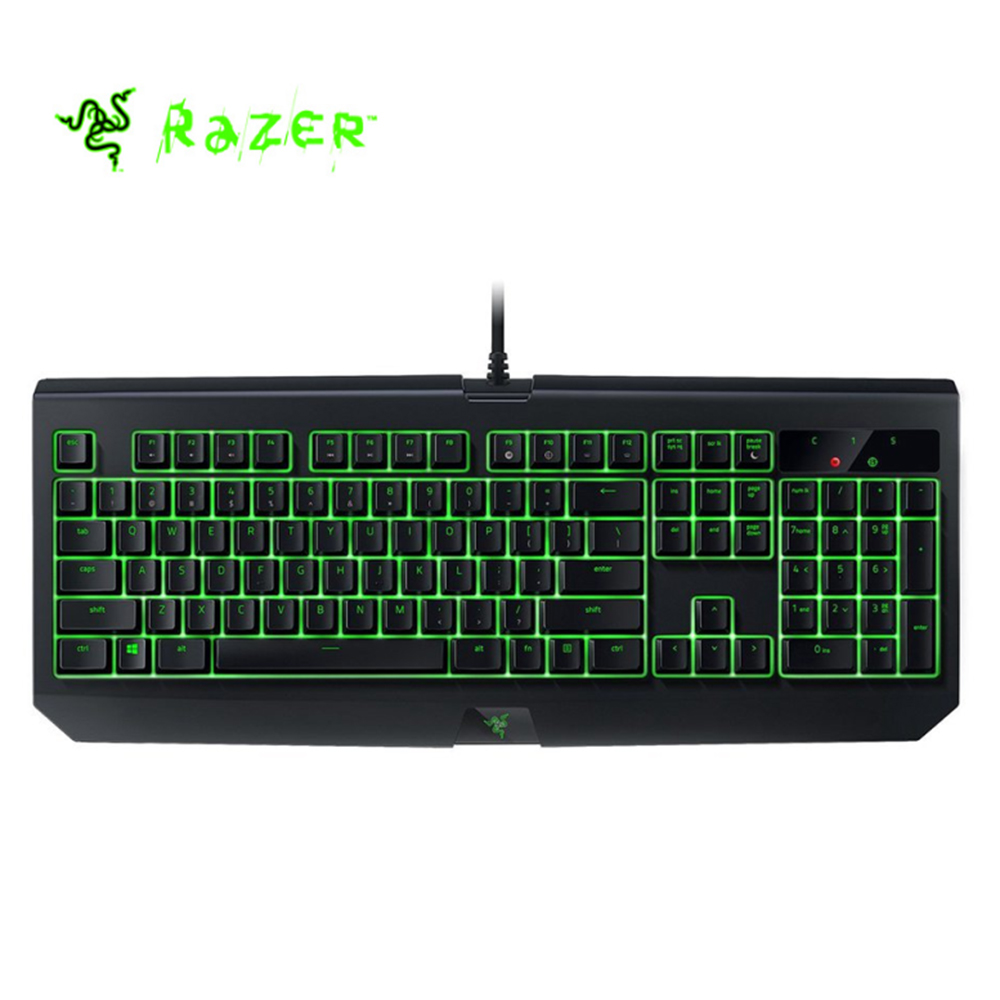 все цены на Razer Blackwidow Ultimate waterproof Backlit Mechanical Gaming Keyboard Fully Programmable Tactile Clicky Razer Green Switch онлайн