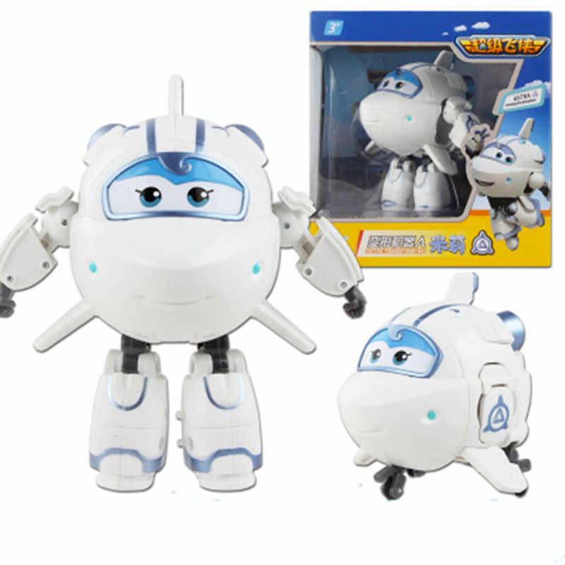 13 stili di Super Ali Action Figure Giocattoli Big Airplane Robot Superwings Trasformazione Del Fumetto Del Anime Giocattoli Per I Bambini I Ragazzi Regalo