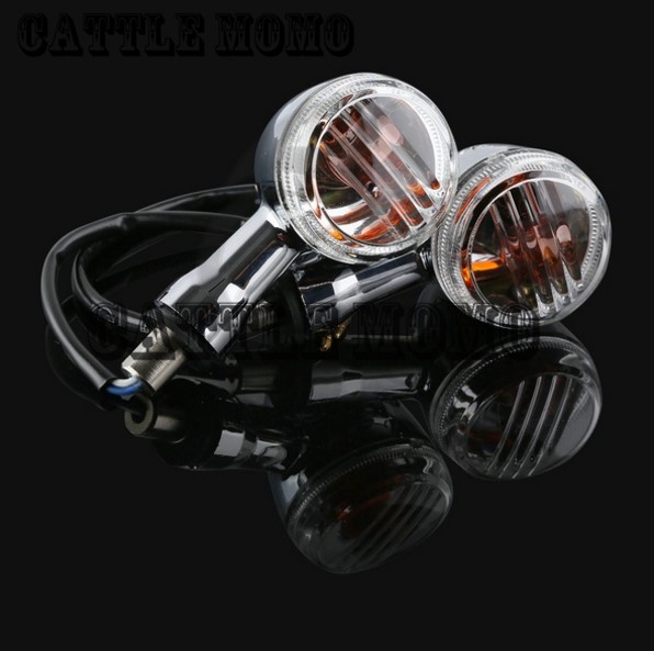 1 Pair Clear Turn Signals Light For SUZUKI Boulevard M109R VRZ1800 2006 2007 2008-2013 2009 2010 2011 Motorcycle Turn Signals