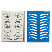 Silicone Double Sides Tattoo Skin Microblading Practice for Supplies Kit Ink Including Beginners