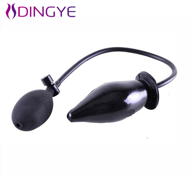 New Butt Plugs Inflatable Anal Plug Beads Intumescent Supplies Anal Sex Toy