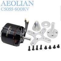 Aeolian C5055 Kv600 Outrunner Brushless Motor For RC Airplane Fixed Wing