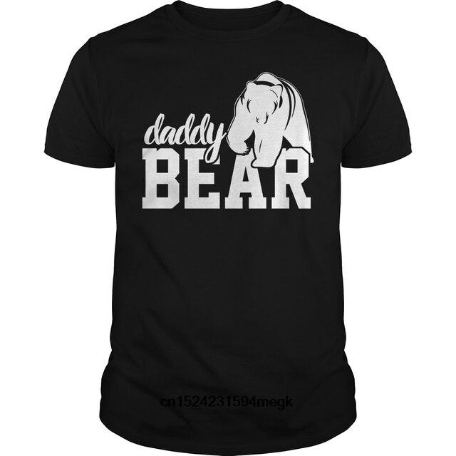 183dedb0 Funny Men t shirt Women novelty tshirt Daddy bear baby bear shirt cool T- Shirt