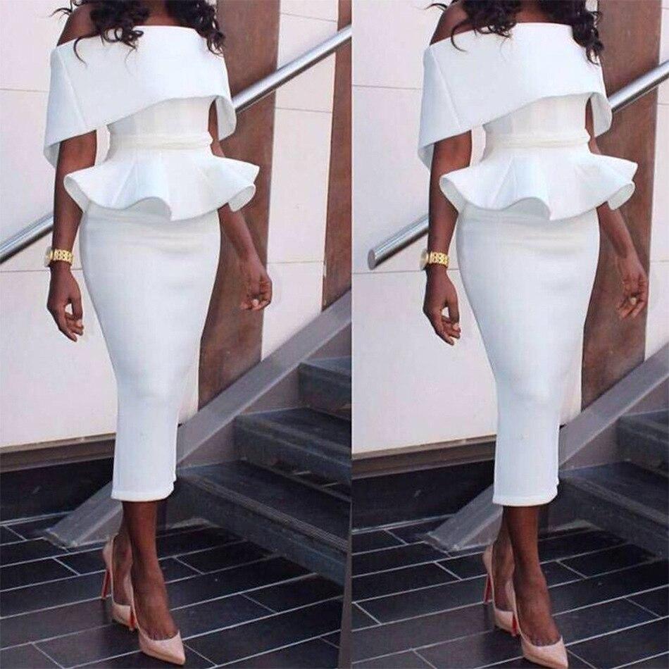 Robe Partie De Élégant purple Bretelles white Nouveau Femmes Black D'été Sexy mollet Robes Moulante Soirée Blanc Mode Eranlee 2017 Mi Ruches pink PZFqzdqw