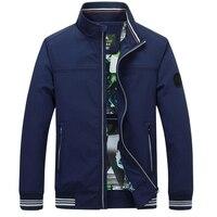 Wiosna jesień kurtka męska nowa marka wysokiej jakości płaszcz Mężczyzna Dorywczo stójka Kurtka Mężczyzn
