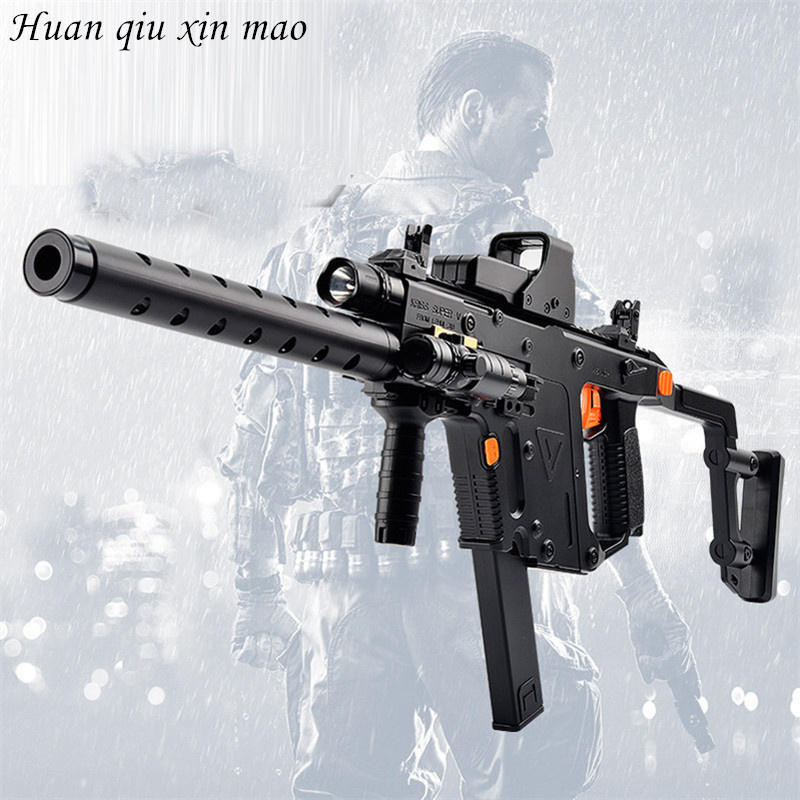 Plastic Interactive Water Toy Guns Dagger Electric Toy Gun Cool Lighting Infrared Submachine Outdoors cs game Toy gun For boy funny fishing game family child interactive fun desktop toy