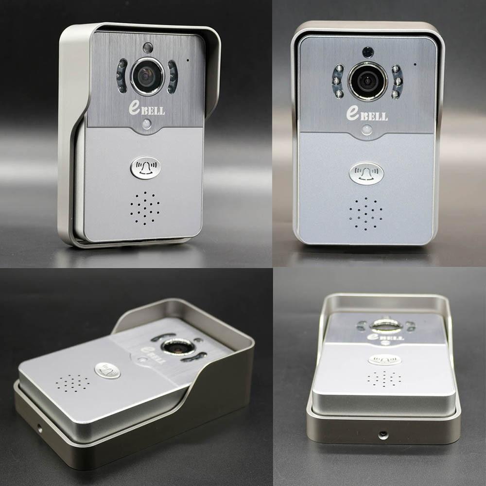 Door camera bell bcomtech 7 inch villa video door bell with 720p ip wireless doorbell camera rubansaba