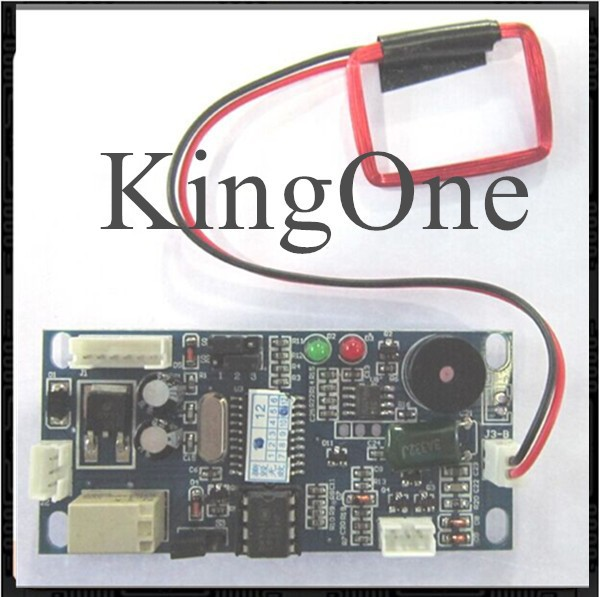 9-24v 125Khz RFID Embedded access controller module with Wg26 interface