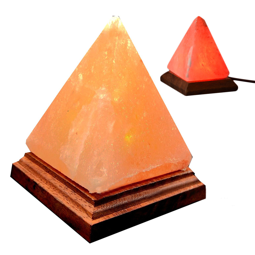 Image 5 - USB Charging Ionic Crystal Salt Color Changing Lamp Himalayan Led Natural Rock Air Purifier Night LightLED Night Lights   -
