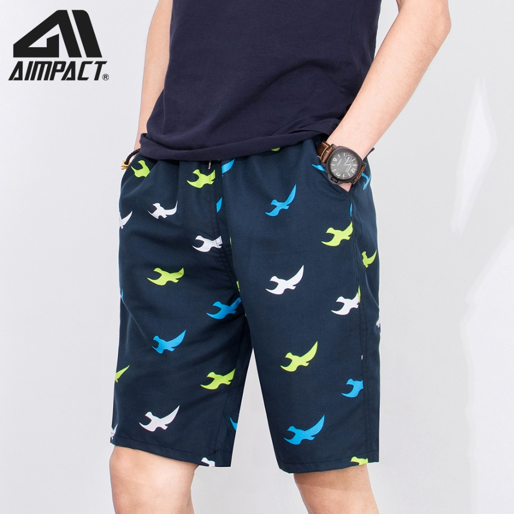 2019 New Fashion Swim Trunks   Board     Shorts   for Men Summer Quick Dry Surfing Beach Swimming Sporty Holiday Beach Running AM2102