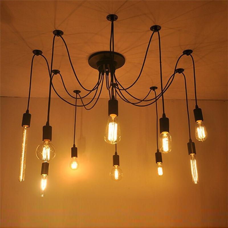Bathroom Light Fixtures Installation aliexpress : buy spider light ceiling suspended ceiling light