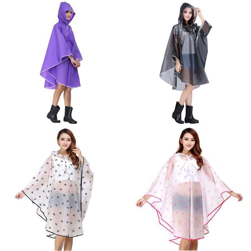 Bekleidung Hell Einweg Erwachsene Poncho Regenjacke Regenmantel Unisex Regencape Notfall Damen Die Neueste Mode