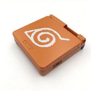 Image 5 - 10 مجموعات ل GBA SP لعبة وحدة التحكم حافظة كرتون طبعة محدودة كامل الإسكان شل استبدال ل نينتندو Gameboy مقدما SP