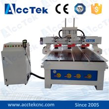 High precision 3 head AKM1325 multi spindles cnc machine