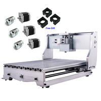 CNC 3040Z рамка «сделай сам» комплект шариковый винт гравировальный станок стол токарный станок кровать с 3 шт. шаговый двигатель муфта кронште