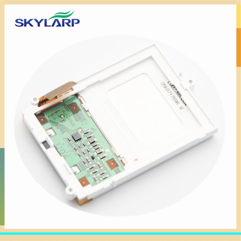 skylarpu LCD Screen Module Replacement fo garmin Rino 530 520 530HCx 520HCx (without touch) skylarpu 2 2 inch lcd screen module replacement for lq022b8ud05 lq022b8ud04 for garmin gps without touch