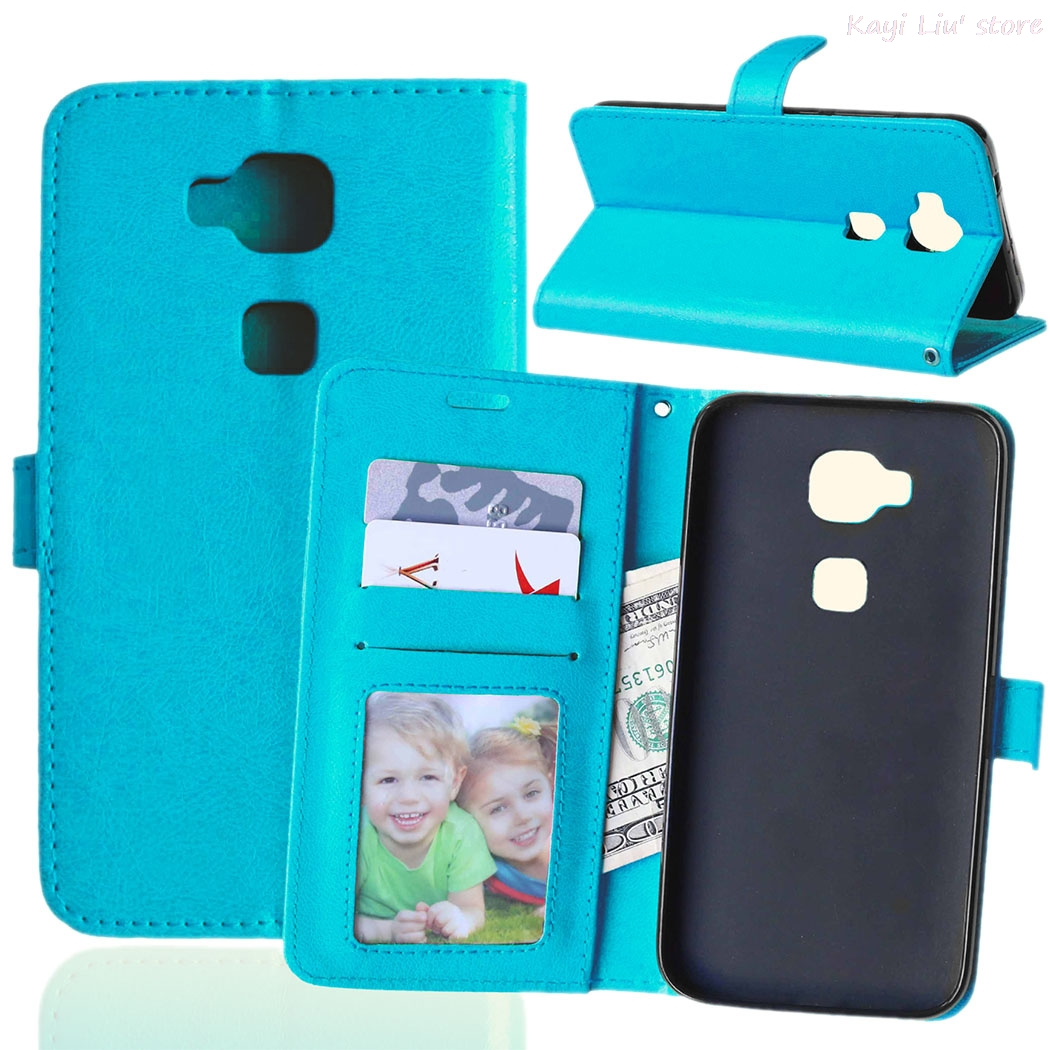 Flip Stand Leather <font><b>Case</b></font> Wallet Soft Silicone <font><b>Phone</b></font> Cover For Huawei Ascend G8 G7 Plus <font><b>GX8</b></font> With Card Holder Cash Slot Photo Frame