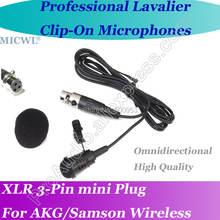 Микрофон micwl me4 pro microfone lavalier para с отворотом для
