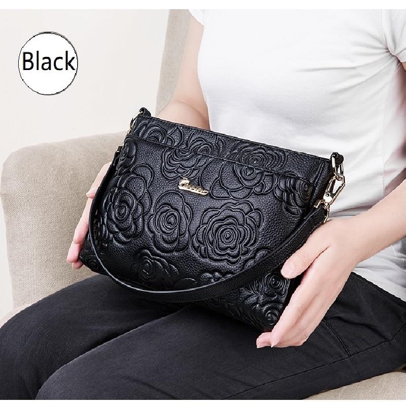 ZOOLER Elegant Genuine Leather Bags Small Cross Body Bag 2019 New Women Leather Purse Shoulder Bags Luxury Bolsa Feminina #yc202
