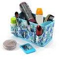 1 unid multifunción abierta bolsa cosméticos de belleza Floral organizador compone el bolso el nuevo maquillaje plegable cosméticos caja de almacenamiento