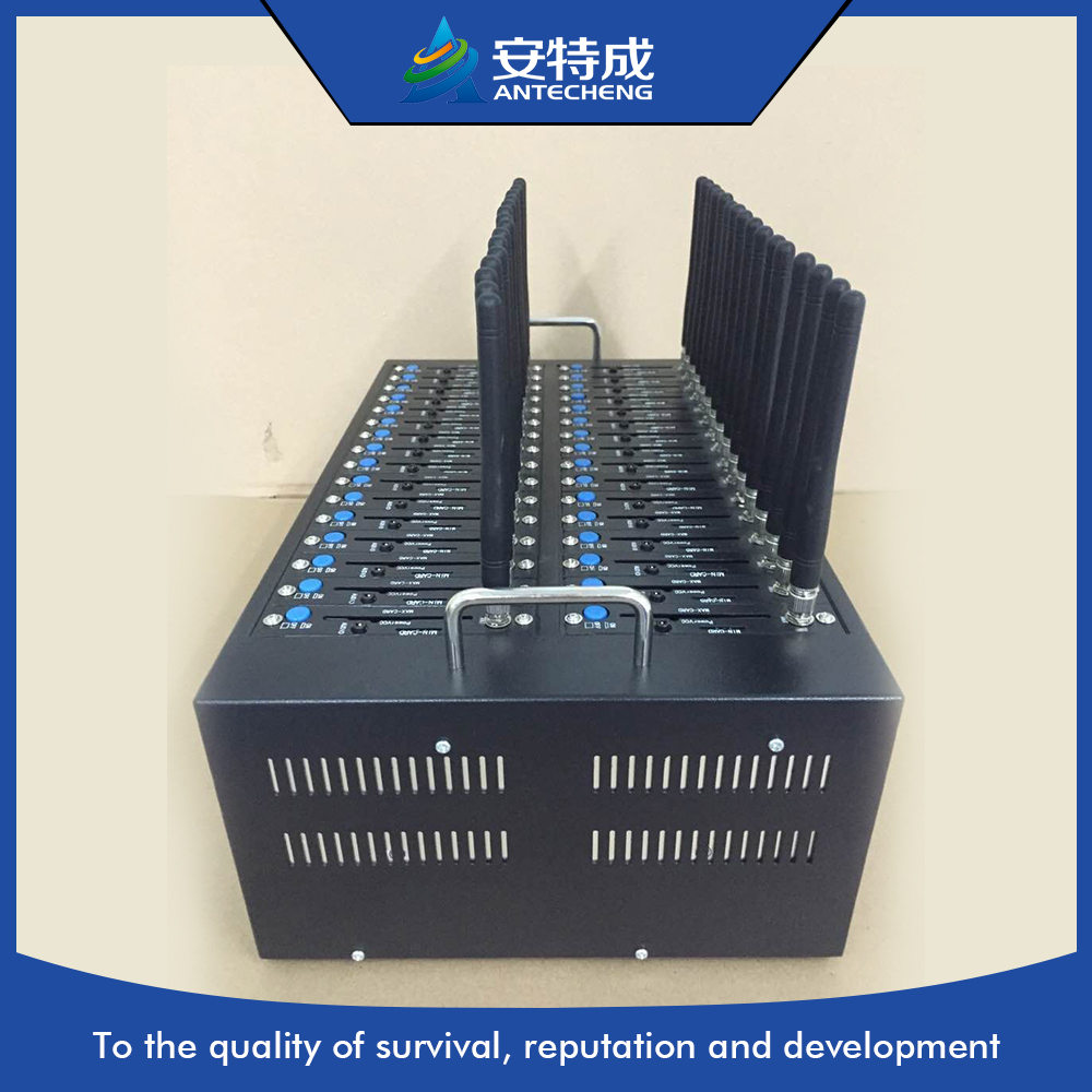 Factory price GSM GPRS 32 port modem pool support bulk sms imei change, gsm usb 32 port modem, quad band 32 port sms modem pool