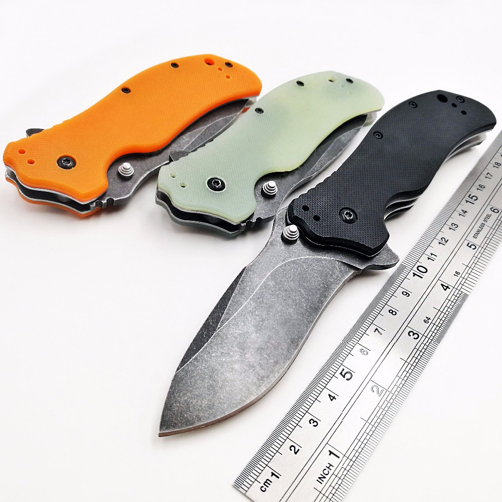 GRW ZT 0350BW Bearing Folding Knife S30V Blade Flipper Tactical Pocket Knives Camping Hunting Survival Knife EDC Outdoor Tools newest zt folding knife tactical camping knives edc tool d2 blade bearing system survival knife 0801cf high quality